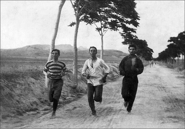 FIRST OLYMPIC MARATHON 1896