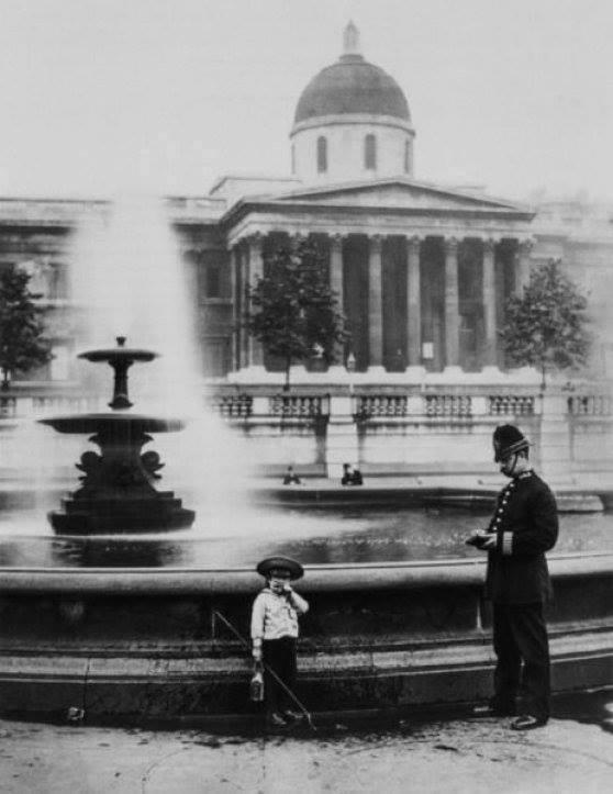 TRAFALGAR SQUARE, LONDON. 1892