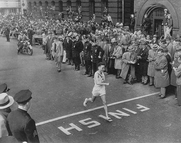 BOSTON MARATHON 1951