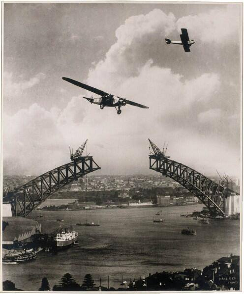 SYDNEY HARBOUR BRIDGE 1930