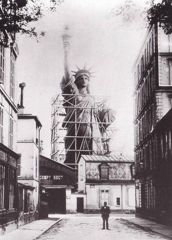 STATUE OF LIBERTY CONSTRUCTION 1880