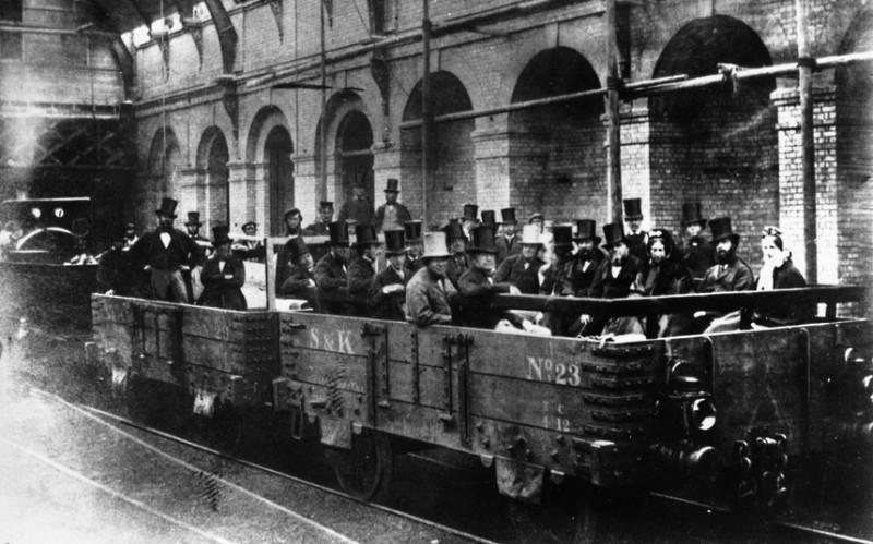 LONDON UNDERGROUND 1862
