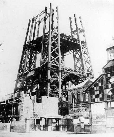 BLACKPOOL TOWER 1893