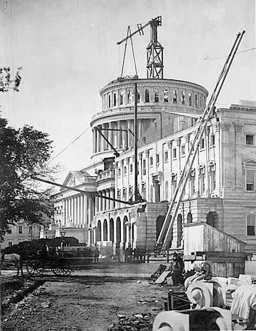 CAPITOL BUILDING 1861