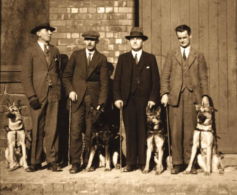 UK's FIRST GUIDE DOGS