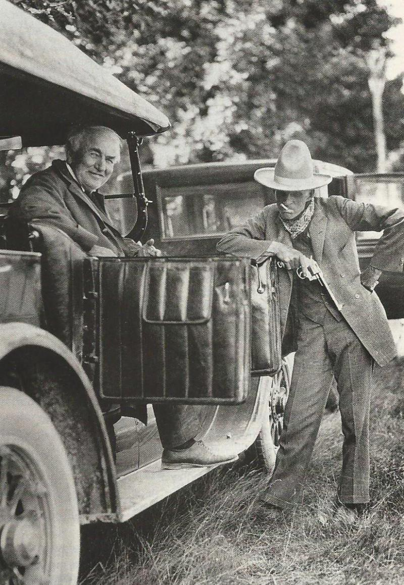 HENRY FORD AND THOMAS EDISON 1923