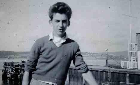 GEORGE HARRISON AGED 15 YEARS