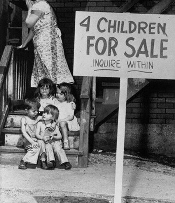 CHILDREN FOR SALE CHICAGO 1948